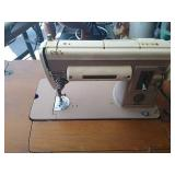 Singer 301a model sewing machine with sewing