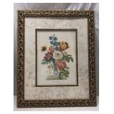 Floral Wall Art in Beautiful Frame Q15D