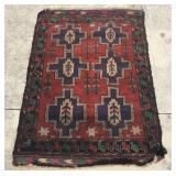 Vintage Tribal Pakistani Rug 2