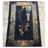 Antique Chinese Art Deco Rug U8C