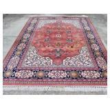 Vintage Karastan Kara Shah Rose Serapi Rug U7A