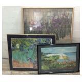 3 Floral Prints M15F