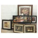 7 Framed Prints M15F