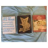 Factory Service Manuals (10) U