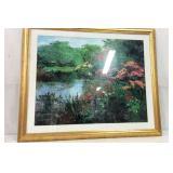 Vibrant Landscape Print Y15D