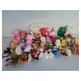 (50) Collectible Xmas Beanie Babies U9C