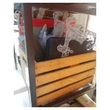 Crate of Christmas Decorations and More K9C