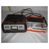 Battery Charge 6/2 amp & Drill Bit Case U9C