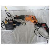 Ridgid Saw-Zall, Drill Master & Ryobi Biscuit U9B