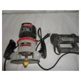 Craftsman Router & Rotozip Router U9B
