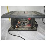 "Craftsman Table Saw 10"" 2.5 Hp U10D"