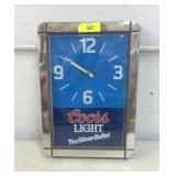 Coors Light Clock K15E