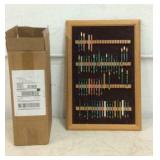 Golf Pencil Display Case & Hundreds Golf Tees T7C