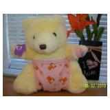 12 NEW Teddy 2 Cute Bears --Baby Girl Bear! W
