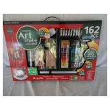Brand New Complete Art Studio 162 Pcs. U12B