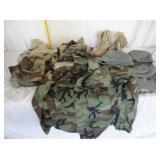 Military Boots and Shirts U13B