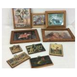 Western Themed Wall Art Collection K