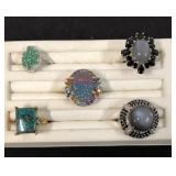 Five Assorted Dress Rings KJC