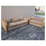 Matching Couch & Loveseat W17A/4C