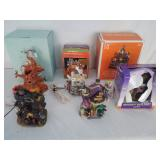 Lot of (8) Lighted Halloween Houses