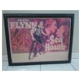 "Vintage Errol Flynn ""The Sea Hawk""  Poster"