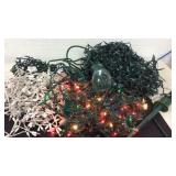 Huge Lot Of Holiday Lights with Timer K14A