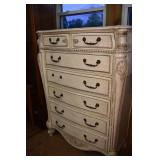 7 DRAWER FRENCH PROVENCIAL CHEST
