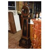 ORIENTAL ACCENT MODERN PAINTED CLOCK