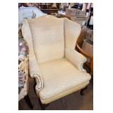 CHIPPENDALE WING BACK CHAIR