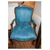 FRENCH UPHOLSTERED CHAIR