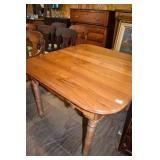 1870 WALNUT BANQUET TABLE