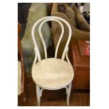 PAINTED ICE CREAM PARLOR CHAIR