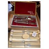 MISC. 2 HULL KNIFE SETS