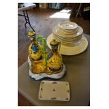 HAIGER CHARGER WILLIAMS SONOMA PLATES, BOWLS &