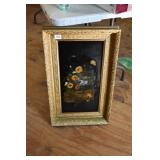 EARLY VICTORIAN FRAME W/ PAINTING ON BOARD