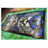 1PC OF STAINED GLASS