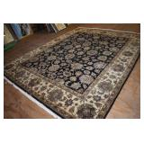 LIKE NEW IMPORTED HEAVY WOOL RUG