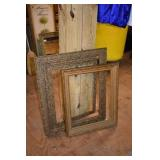 2 OLD PICTURE FRAMES