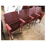 HEYWOOD WAKEFIELD THEATER AUDITORIUM MOVIE SEATS
