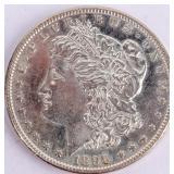 Coin 1896 Morgan Silver Dollar Gem Brilliant Unc.