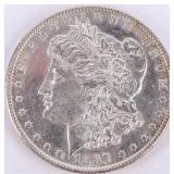 Coin 1887 Morgan Silver Dollar Choice Prooflike