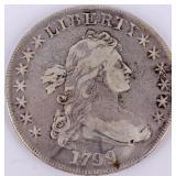 Coin 1799 U.S. Silver Dollar Genuine VF Grade
