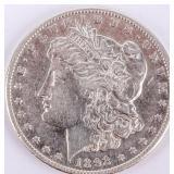 Coin 1892-CC  Morgan Silver Dollar Choice Cleaned