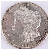 Coin 1891-CC  Morgan Silver Dollar Choice AU