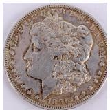 Coin 1896-O  Morgan Silver Dollar Choice AU