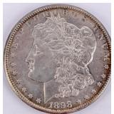 Coin 1898-S  Morgan Silver Dollar Choice BU