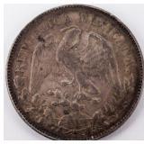 Coin 1898 Mexican Silver Peso Choice!