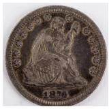 Coin 1876-CC Seated Quarter Extra Fine
