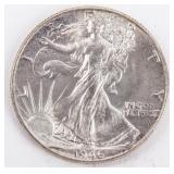 Coin 1946 Walking Liberty Half Dollar Gem B.U.