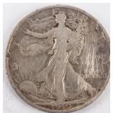 Coin 1919-D Walking Liberty Half Dollar in Fine